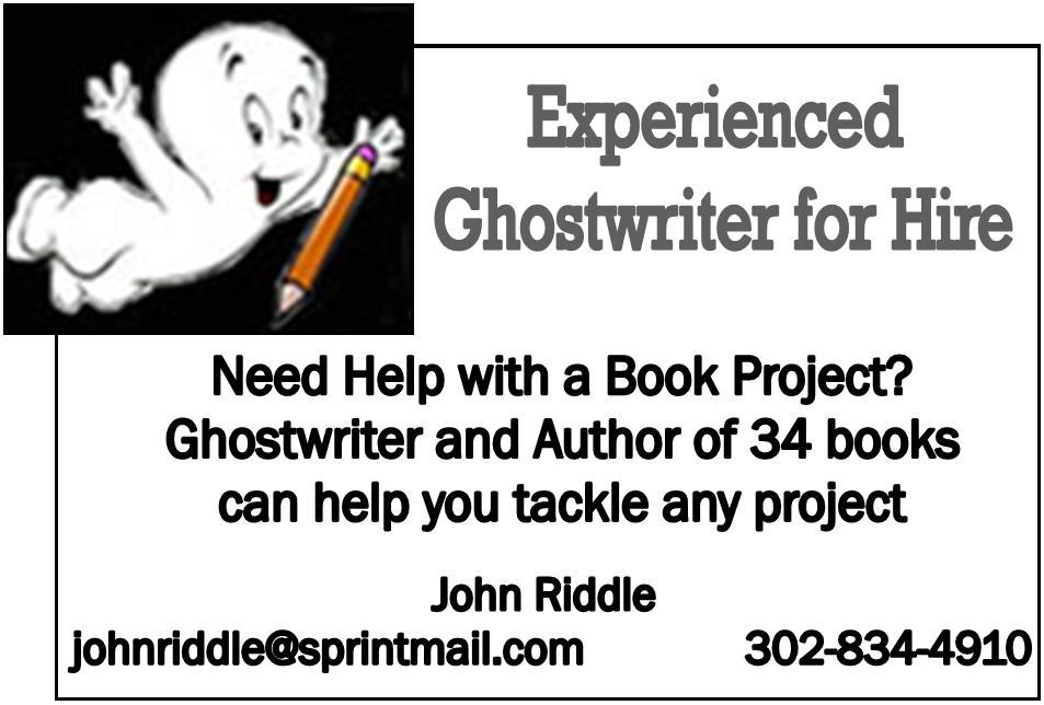 ghostwriter ad