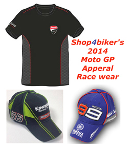 Shop4biker's MotoGP Apperal Race wear