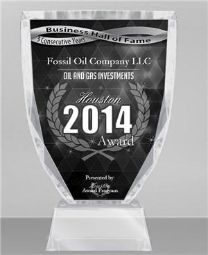 Fossil Oil Company 2014 Houston Award