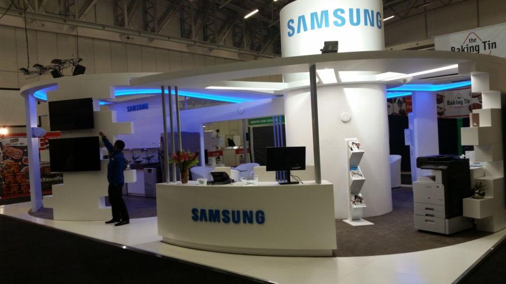 Samsung at Hostex 1 2014