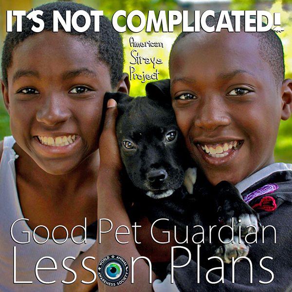Good Pet Guardian Lesson Plans - It's Not Complicated!