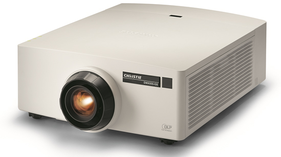 The Christie GS Series of Laser Phosphor Projectors
