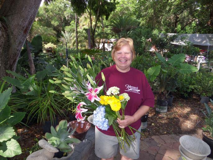 Ellen Schleicher has joined Hammock Gardens as their new florist.