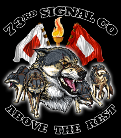 73rd Signal Co Custom Shirts