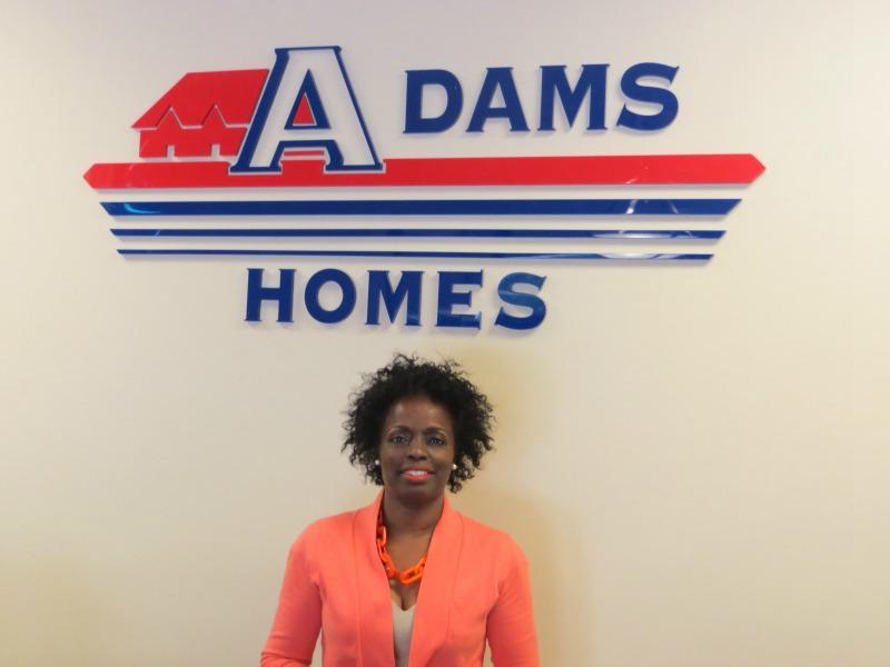 Adams Homes new sales associate Brenda Anderson