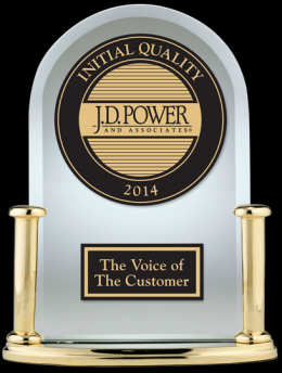 J.D. Power 2014 Initial Quality Study