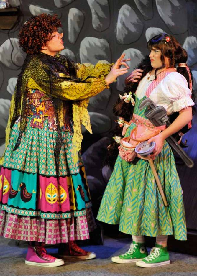 Amanda Leakey and Jayne Claire in 'Rapunzel'