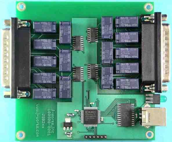 JSB210B USB SPDT Relay Module