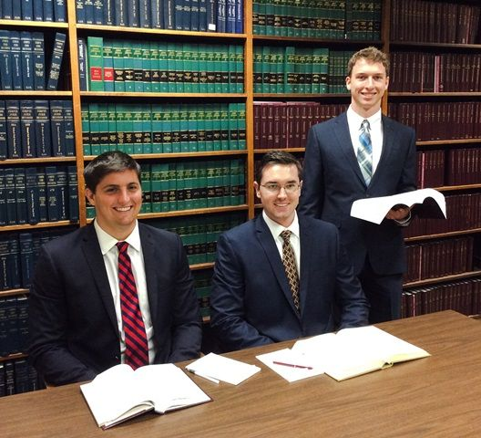 Matthew Devisse, Austin Turner and Michael Lehnert