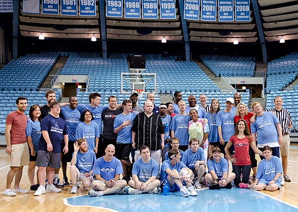 Group photo from the 2013 Spectrum Skills Camp