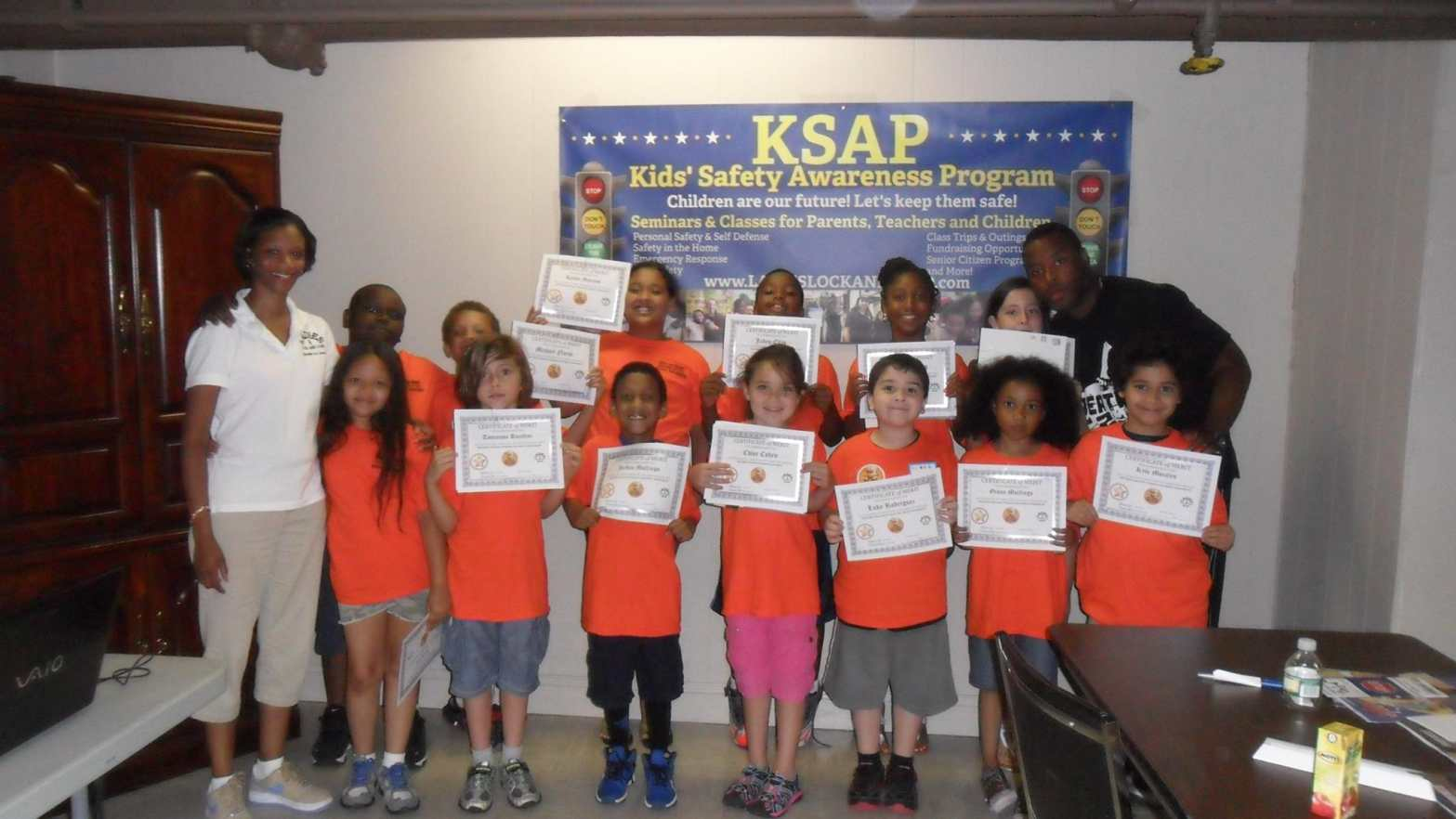 KSAP children after completing course