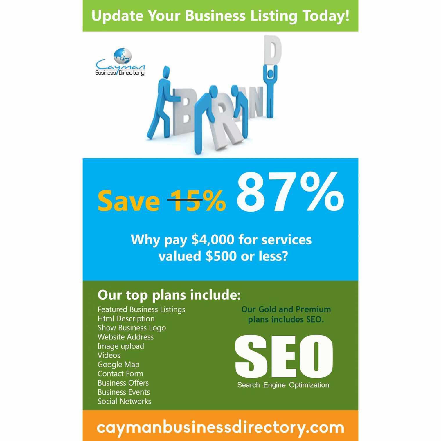 Cayman Bsuiness Directory savings 2
