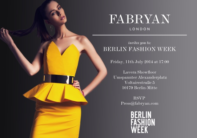 FABRYAN - Berlin Fashion Week