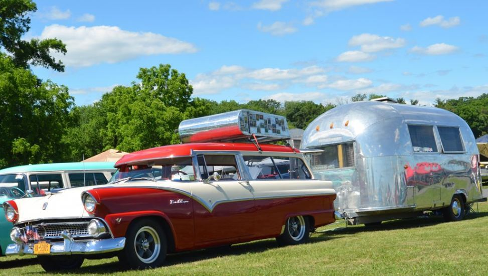 Vintage Campers at Carlisle