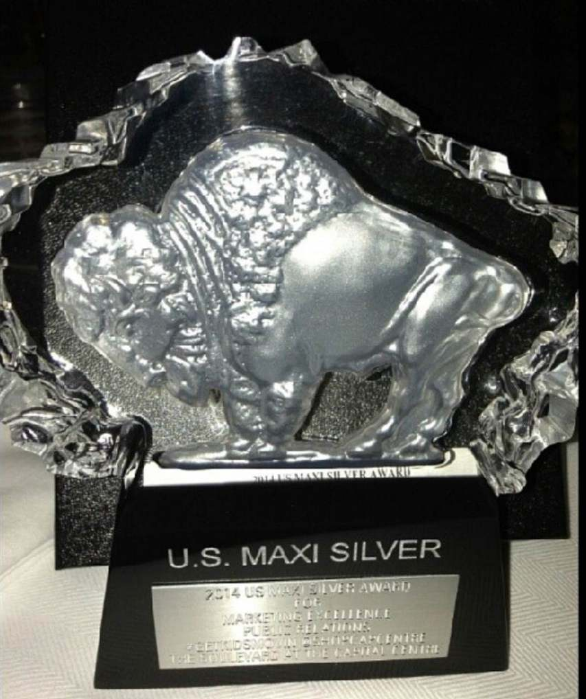 U.S. Silver Maxi Award for #GetKidsMovin @ShopCapCentre