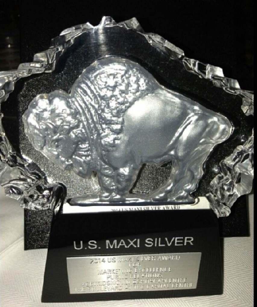 U.S. Silver Maxi Award for #GetKidsMovin @ShopCapCentre