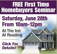 June First Time Home Buyer's Seminar