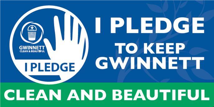 I Pledge Campaign at the Heart of Gwinnett Clean & Beautiful's Pledge-a-Palooza