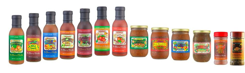 Our Gourmet Product Line