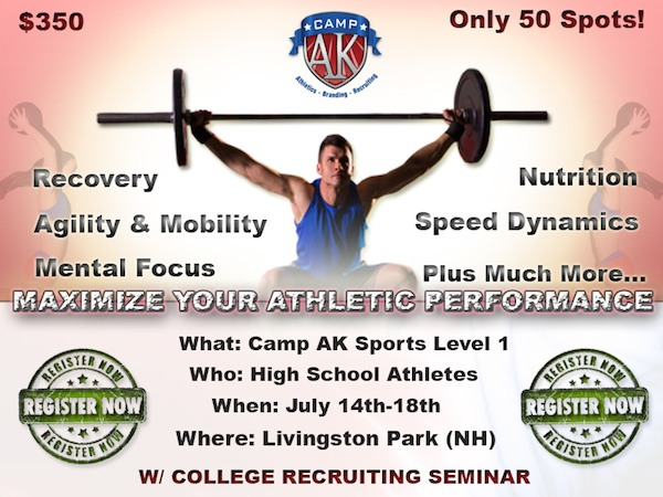 Register for Camp AK New England Level 1 July 14, 2014