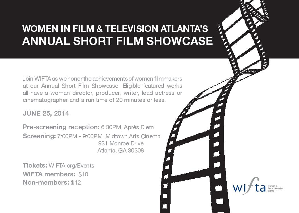 WIFTA 2014 Short Film Showcase Flyer