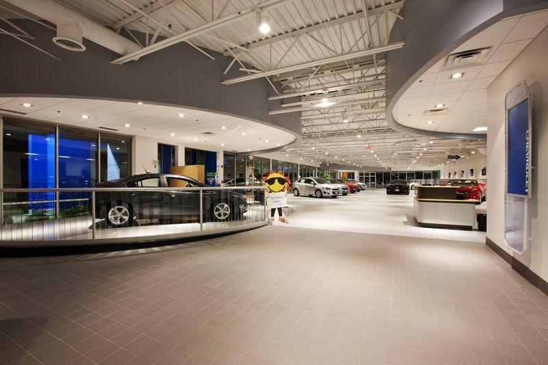 Sunrise Chevrolet Showroom