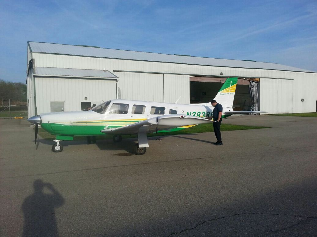 Hosanna airplane