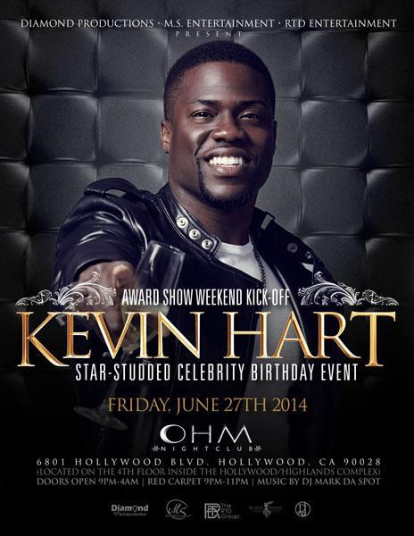 Kevin Hart Celebration