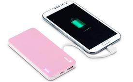 Genius-power-bank-ECO-u306-Pink
