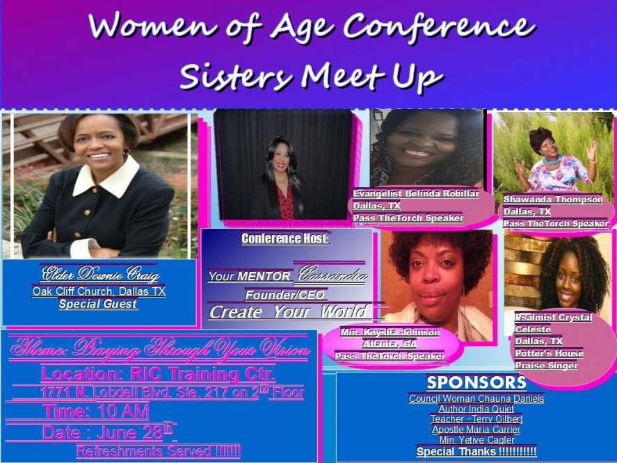 women of age flyer2