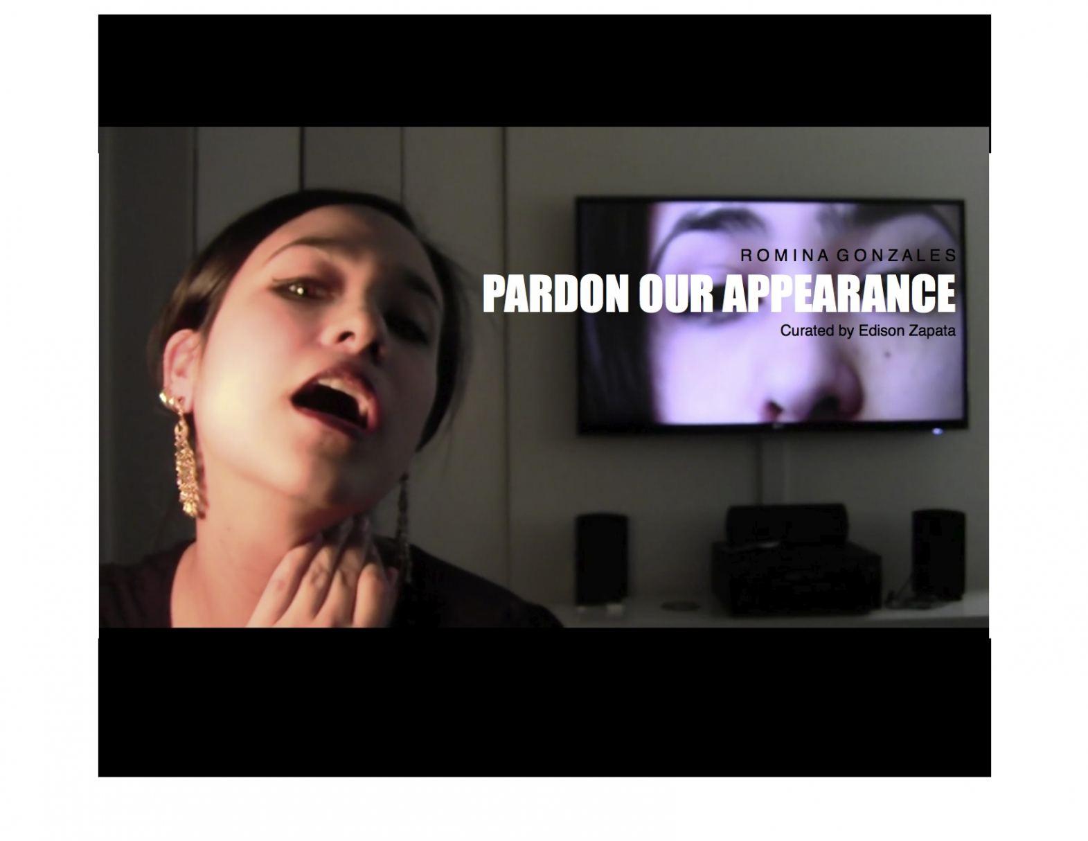 PARDON OUR APPEARANCE