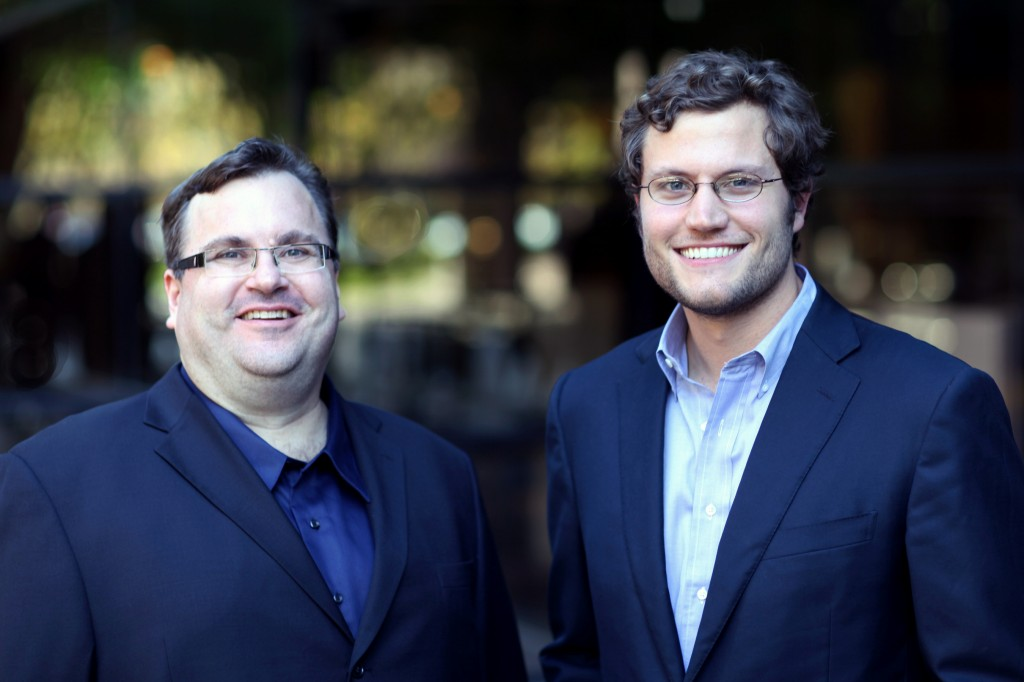 LinkedIn Founder Reid-Hoffman and Ben-Casnocha, Co-authors of The Alliance