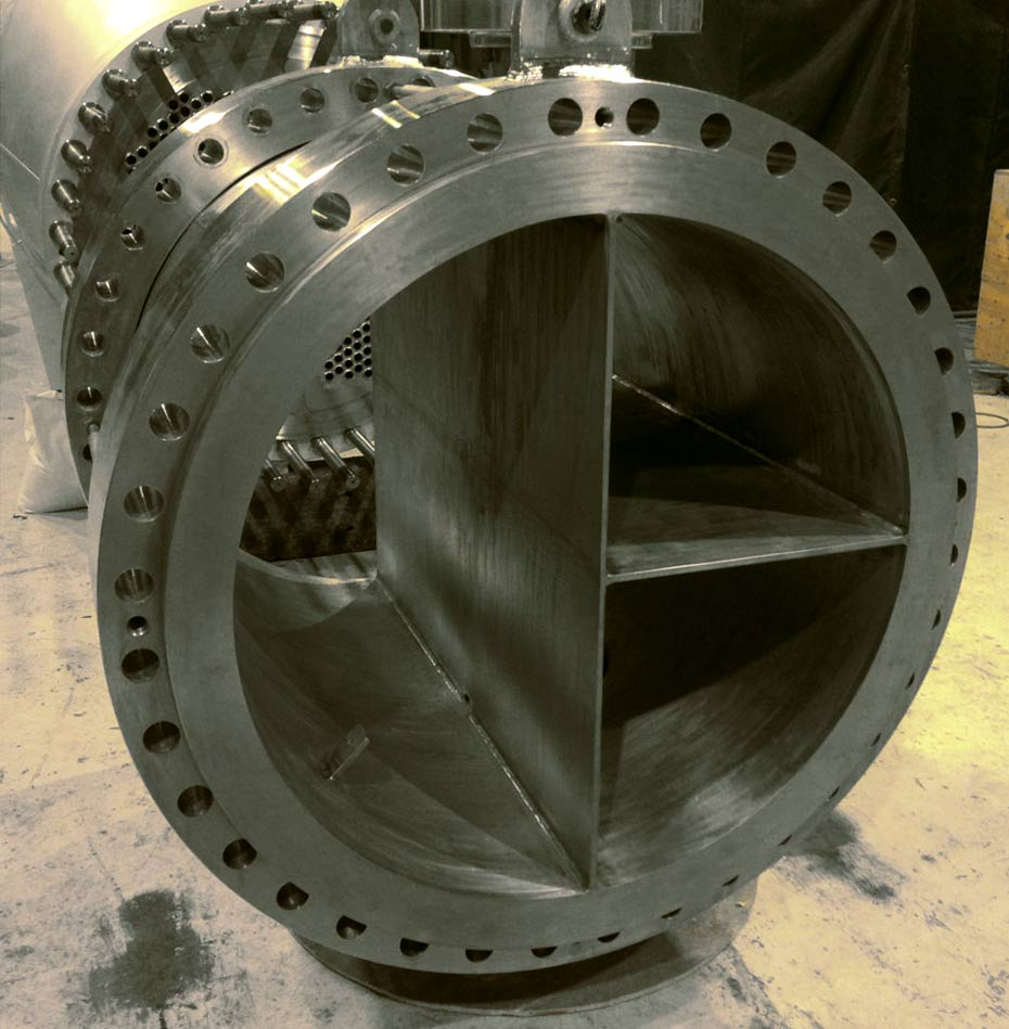 CTL successfully hot rolled a 40mm thick Zirconium plate for a heat exchanger