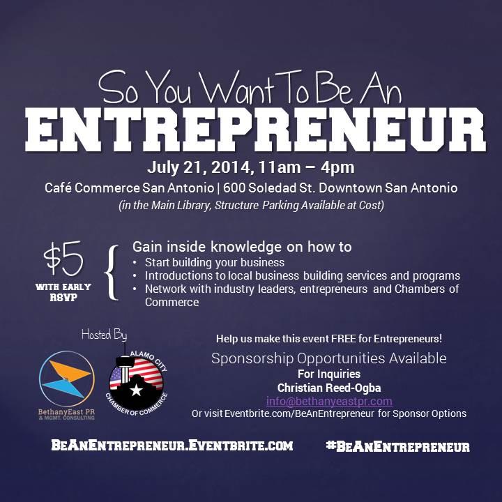 BeAnEntrepreneur.Eventbrite.com