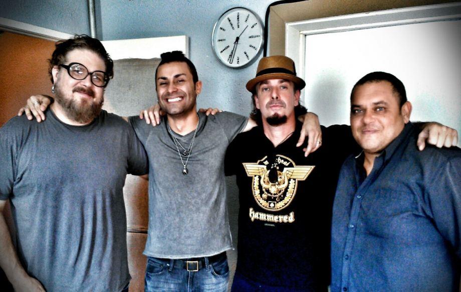 Doug Grean, Kingnaldo, Ramon Ortiz and Gonzalo Valentin Perez Recording/The Loft