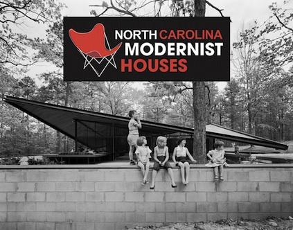 NCMH logo on a 1955 photo of the former Catalano House.