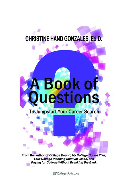 A Book of Questions to Jumpstart Your Career Search
