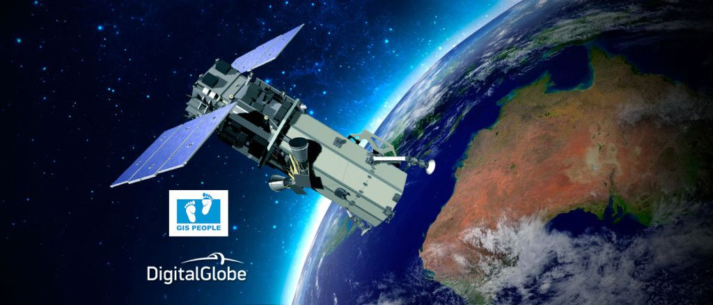 GIS People and DigitalGlobe Partnership