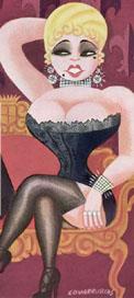 Mae West, bohemian