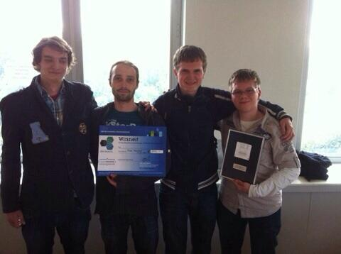 Utrecht Computer Science Students win Health Hackfest Brussels 2014