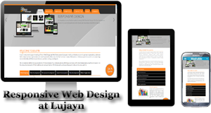 Responsive Web Design at Lujayn