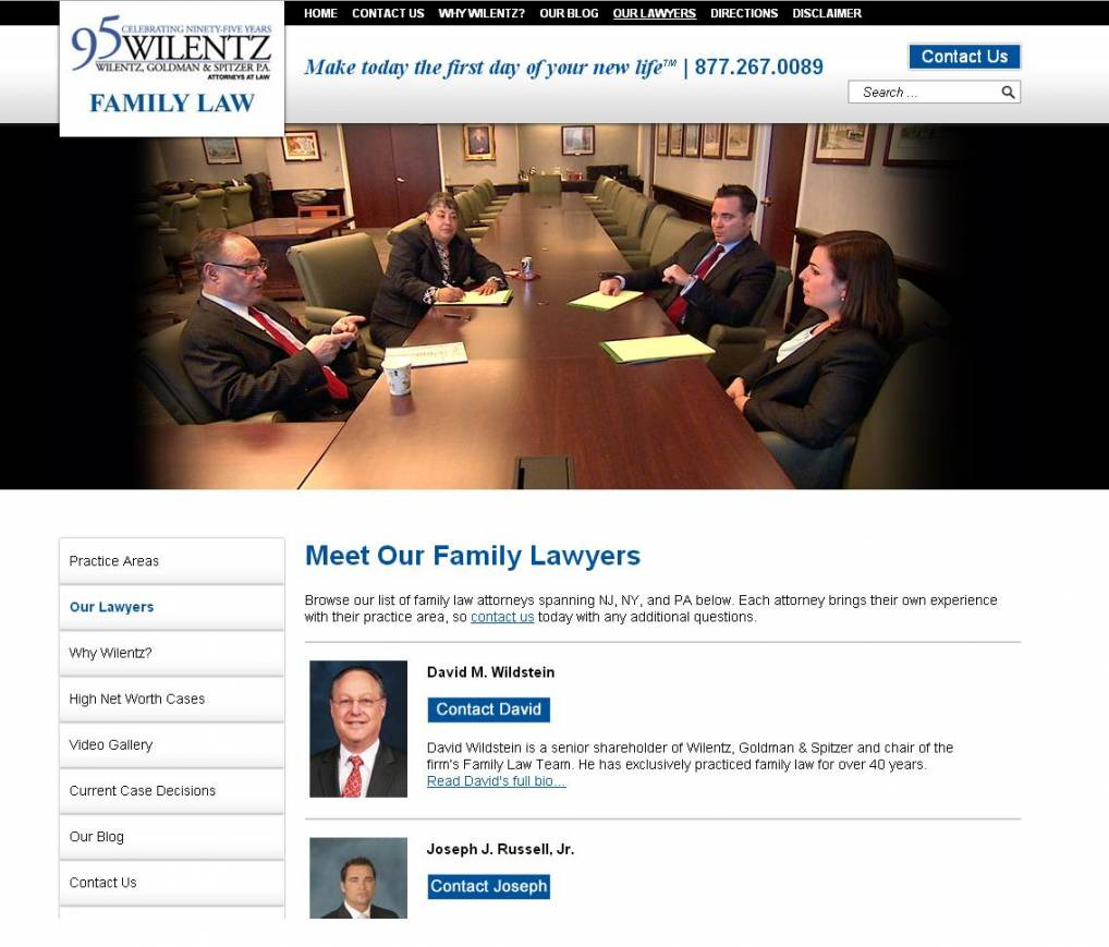New Family Law Website Launch