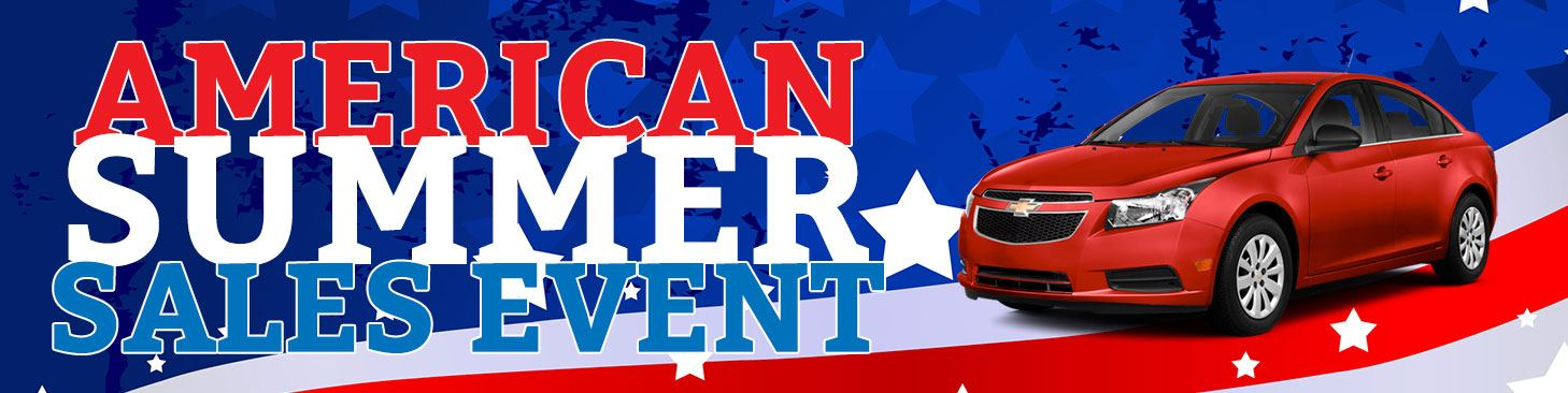 Visit Biggers Chevy for the American Summer Sales Event
