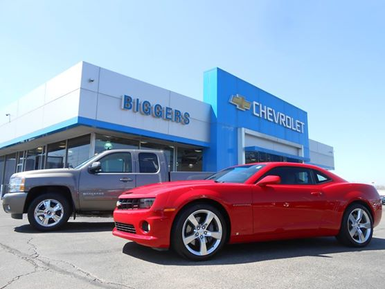 Visit Biggers Chevy for your next vehicle purchase!