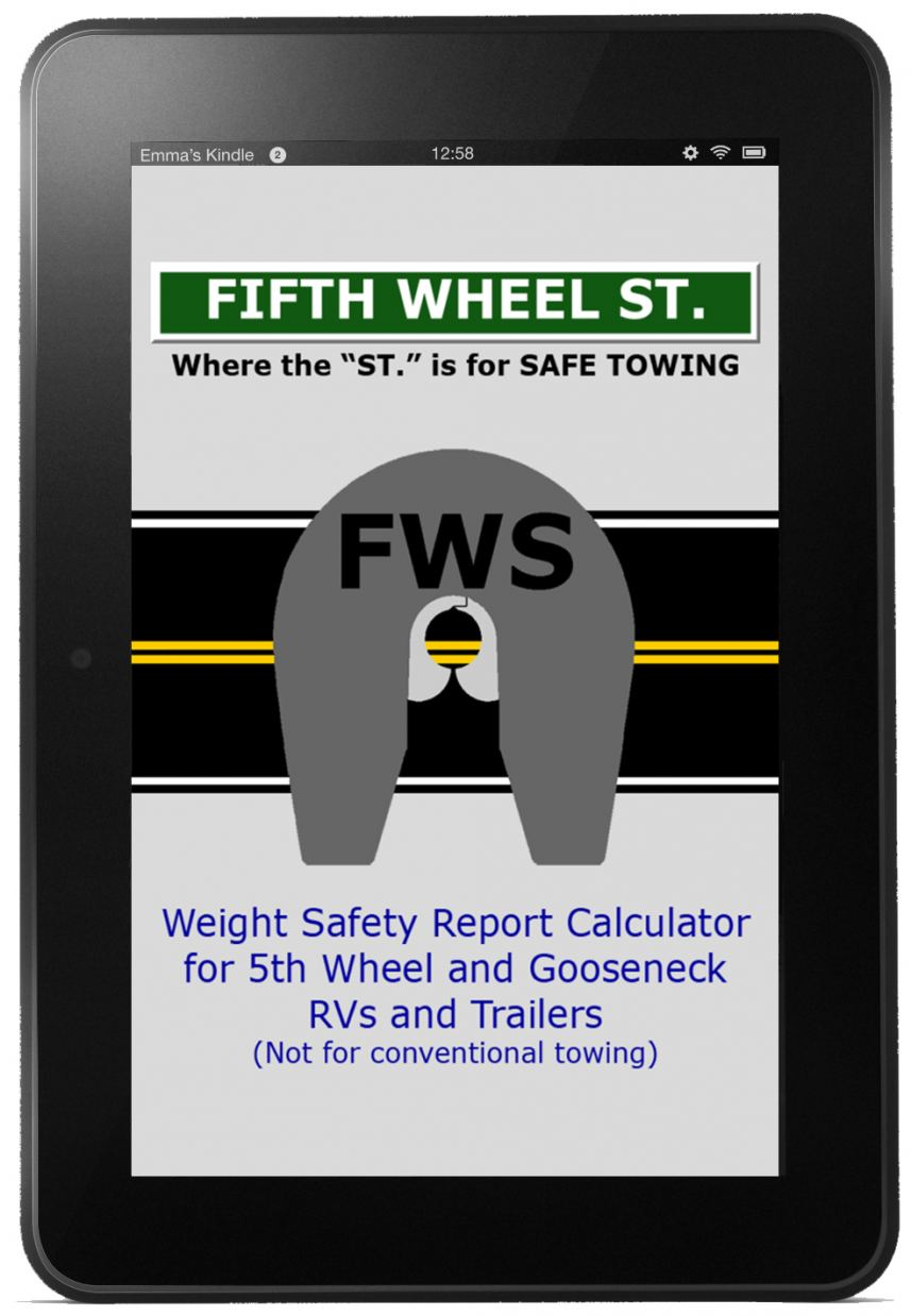Fifth Wheel St. App for Kindle Fire