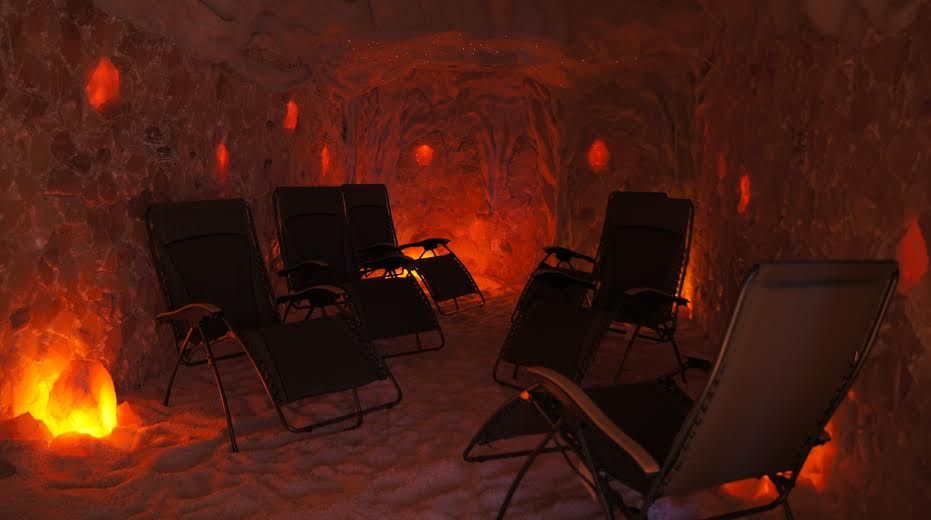 Salt cave in Bismarck, ND