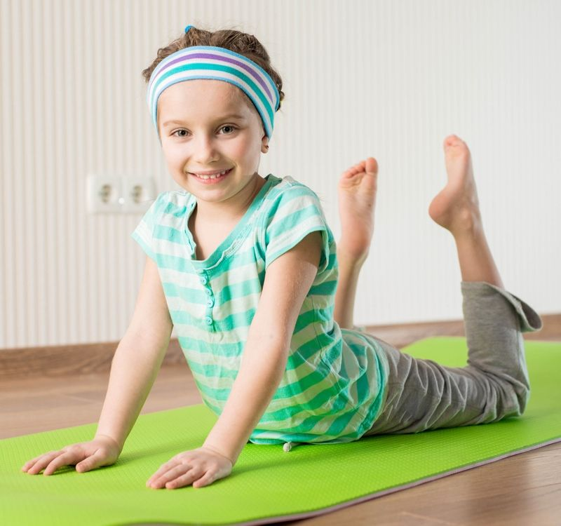 Enroll in the Kids' Summer Yoga Camp at the Wellness Institute!