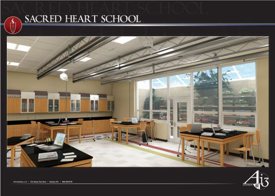 Sacred Heart Biology Lab