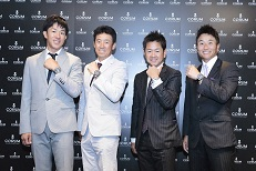 Top Golfers from Japanese Team Serizawa - (L-R) Ku