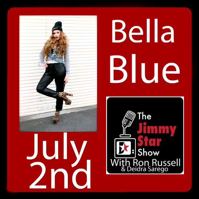 Bella Blue on The Jimmy Star Show